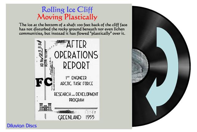 Plastic Ice Cliff