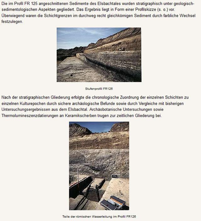 Archäologische Grabung im Elsbachtal