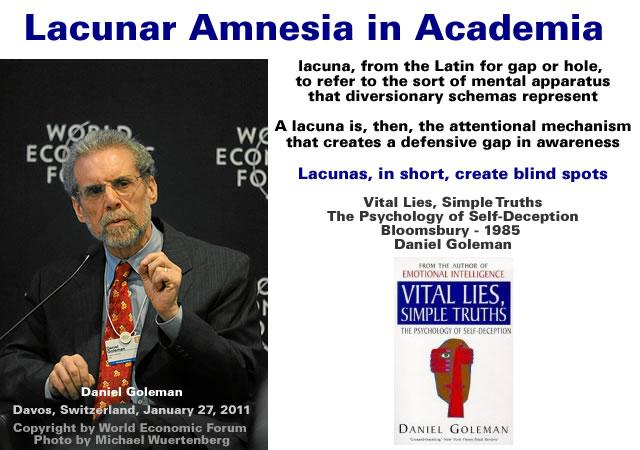 Lacunar Amnesia in Academia