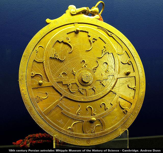 Persian astrolabe