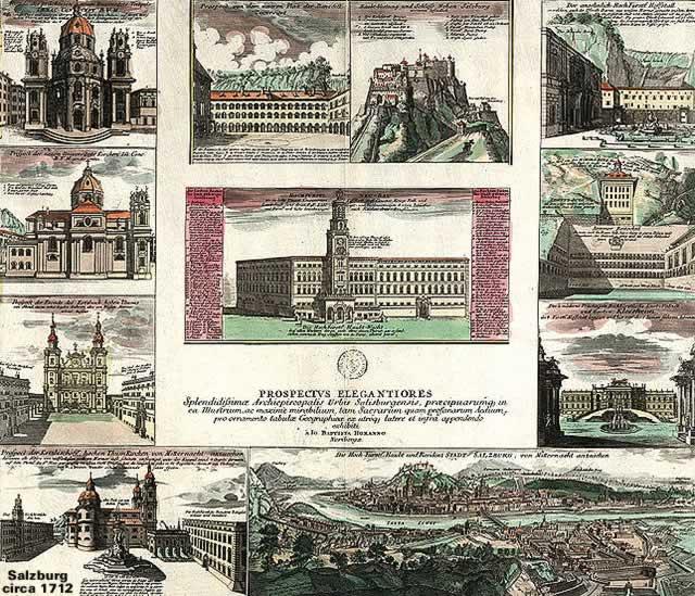Salzburg circa 1712
