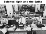 Science - Spin and the Spike
