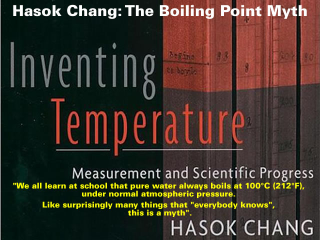 The Boiling Point Myth