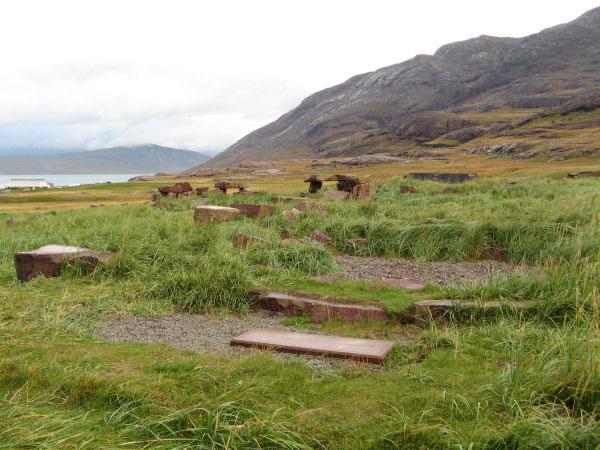 Norse ruins at Garðar