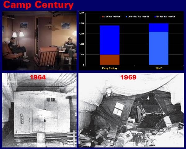 Camp Century - 1964 vs 1969