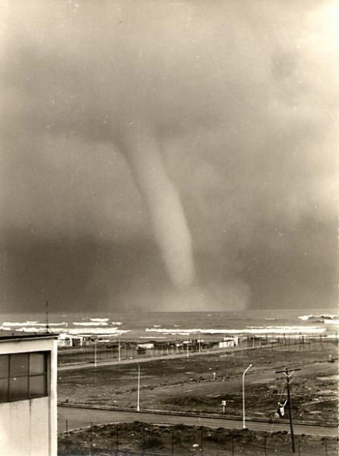 Malaga Tornado about 50 years ago