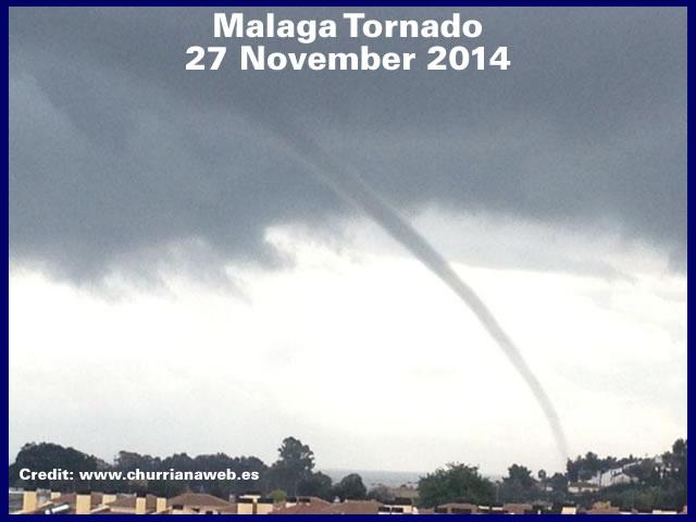 Malaga Tornado