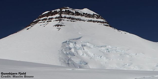 Gunnbjørn Fjeld Snow Cap