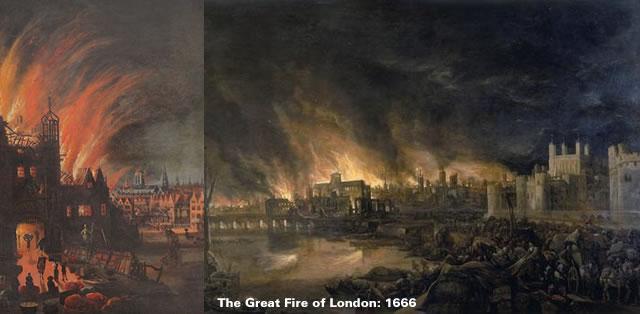 1666 - Great Fire of London