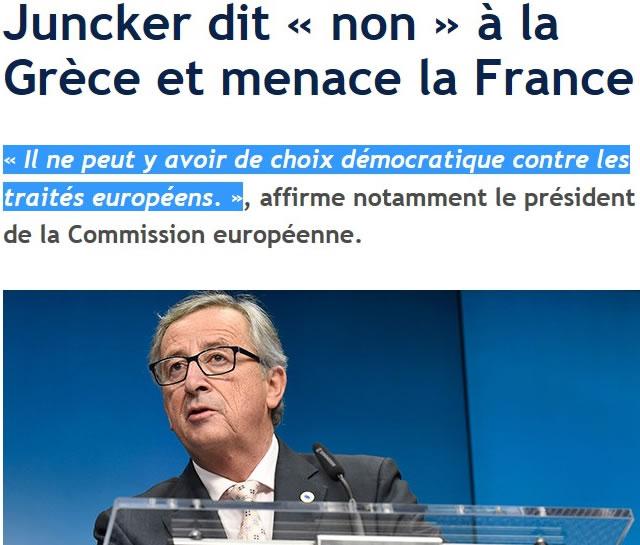 Jean-Claude Juncker - Le Figaro