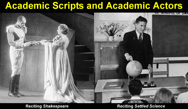 Academic Actors