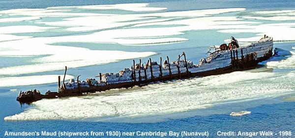 Maud Shipwrecked