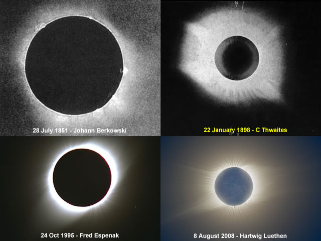 Variable Eclipses
