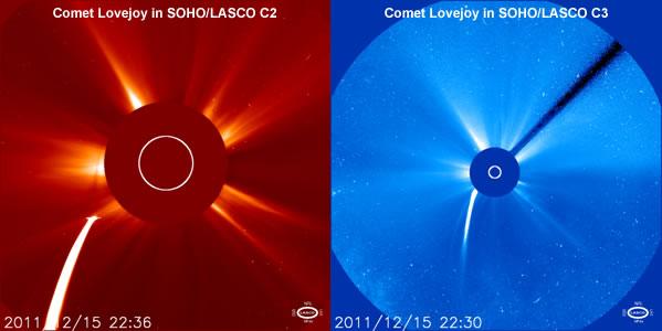 Comet Lovejoy Before