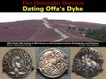 Dating Offa's Dyke