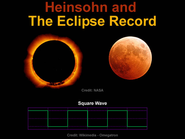 Heinsohn and The Eclipse Record