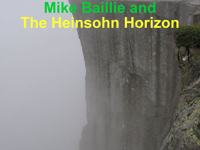 Mike Baillie and The Heinsohn Horizon