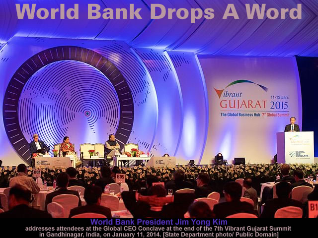 World Bank Drops A Word