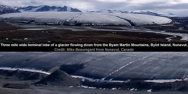 Byam Martin Mountains - Bylot Island - Nunavut
