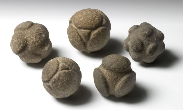Carved Stone Balls from Scotland - Ashmolean Museum