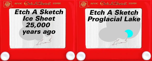 Etch-A-Sketch Ice Sheets