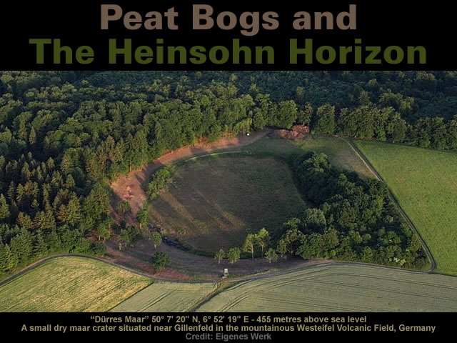Peat Bogs and The Heinsohn Horizon
