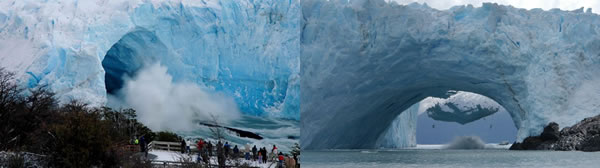 Perito Moreno Glacier break