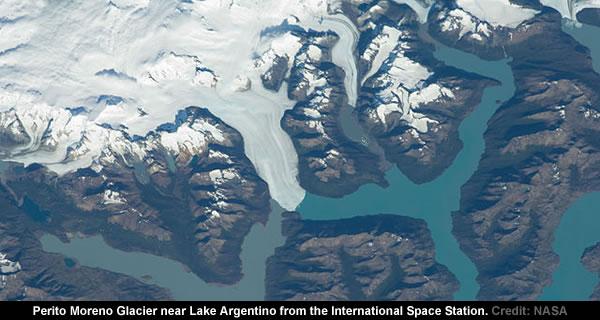 Perito Moreno Glacier - ISS