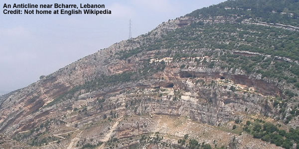 An Anticline near Bcharre - Lebanon