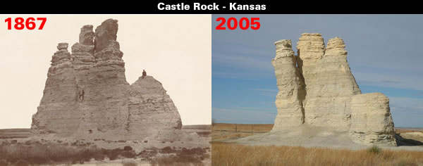 Castle Rock - Kansas