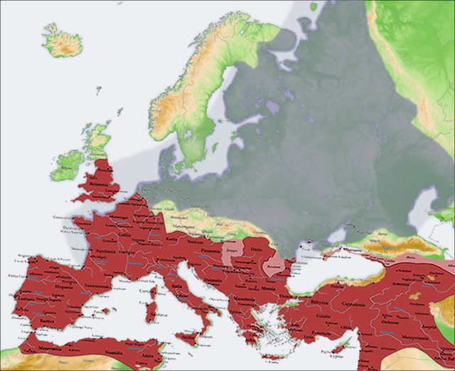 European plain - overlay