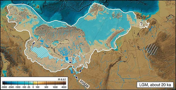 Last Glacial Maximum in Eurasia