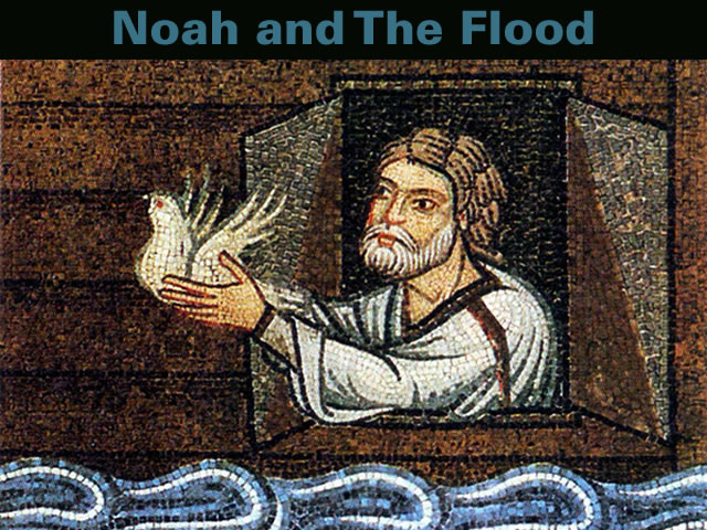 the story of the flood in The story of noah and the flood, found in chapters 6, 7, and 8 of the book of genesis, is thought to have been composed of two sources referred to as j and p what to notice.