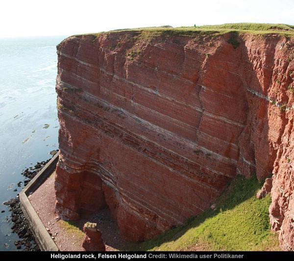 Heligoland rock