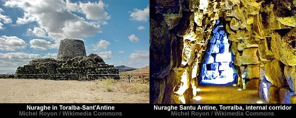 Nuraghe in Toralba-Sant'Antine