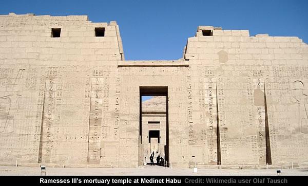 Ramesses III's mortuary