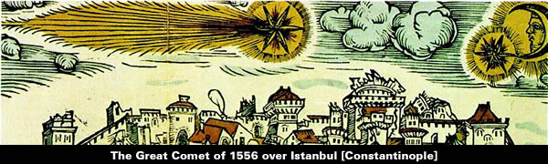 The Great Comet of 1556