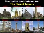 The Heinsohn Horizon and The Round Towers