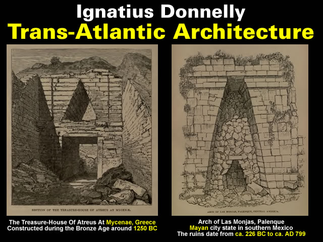 Ignatius Donnelly: Trans-Atlantic Architecture