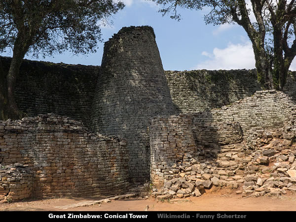 Great Zimbabwe - Twin Towers Photograph