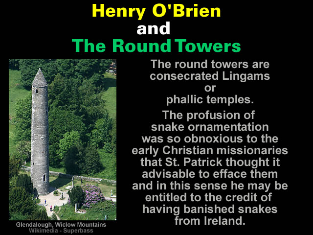 Henry O'Brien and The Round Towers