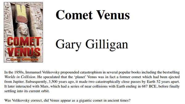 Comet Venus