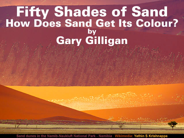 Fifty Shades of Sand