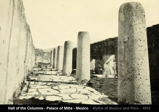 Hall of the Columns - Palace of Mitla
