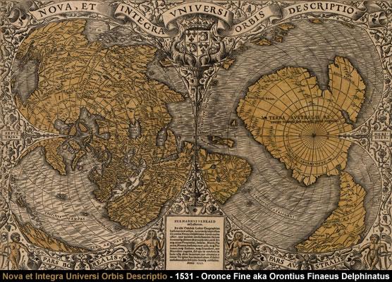 Nova et integra universi orbis descriptio - 1531 - Oronce Fine