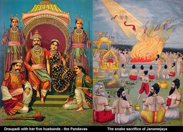 Snake sacrifice of Janamejaya