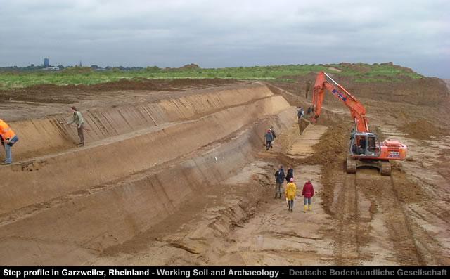 Illustration 3: Elsbachtal Pleistocene sand deposits over Brown Coal