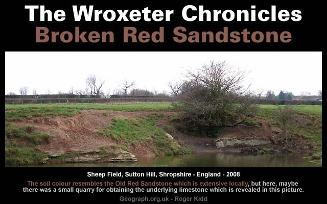 Broken Red Sandstone