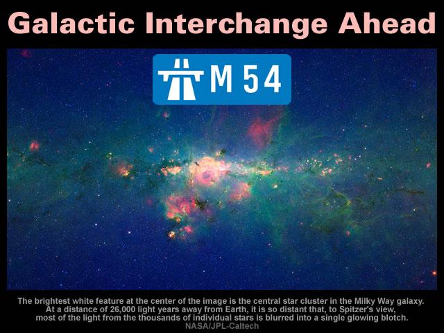 Galactic Interchange Ahead