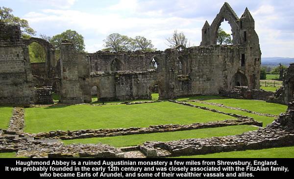 Haughmond Abbey
